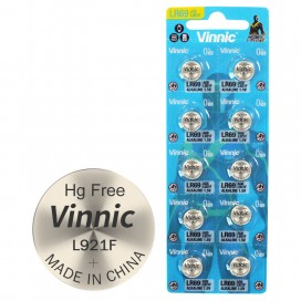 Alkaline Vinnic G 6  /L921/ Battery - Blister pack of 10