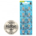 Alkaline Vinnic G 7  /L926/ Battery - Blister pack of 10