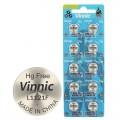 Alkaline Vinnic G 8  /L1121/ Battery - Blister pack of 10