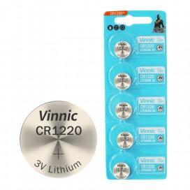 Bateria VINNIC CR1220 - blister 5szt