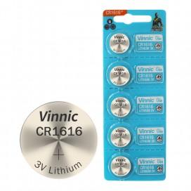 Bateria VINNIC CR1616 - blister 5szt