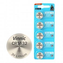 Bateria VINNIC CR1632 - blister 5szt
