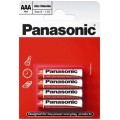 Panasonic R-3 AAA Alkaline Battery - blister of 4