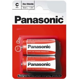 Panasonic R-14 Alkaline Battery - blister of 2