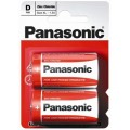 Panasonic R-20 Alkaline Battery - blister of 2