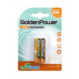 Akumulator Golden Power HR3 AAA 750mAh B2 Ni-MH
