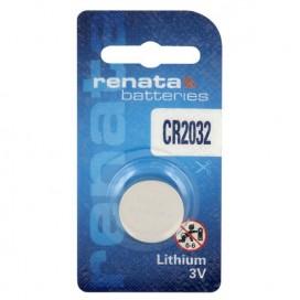 Renata lithium-based battery CR 2032 3V - Blister of 1