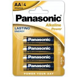 Panasonic alkaline battery LR-6 AA Bronze - blister packs of 4