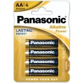 Bateria alkaliczna Panasonic LR6 AA Bronze - blister pak. po 4 szt.