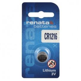 Renata CR 1216 3V Lithium Battery - Blister of 1