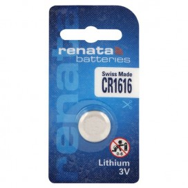 Lithium-Based battery Renata CR 1616 3V - Blister of 1