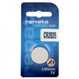 Lithium-Based battery  Renata CR 2025 3V - Blister of 1
