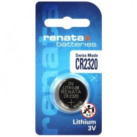 Renata lithium-based battery CR 2320 3V - Blister of 1