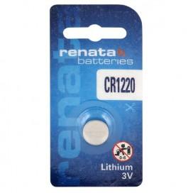Lithium-based battery Renata CR 1220 3V - Blister of 1