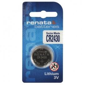 Renata lithium-based battery CR 2430 3V - Blister of 1
