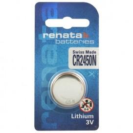 Renata lithium-based battery CR 2450 3V - Blister of 1
