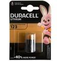Duracell lithium battery CR 123 3V - blister of 1