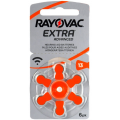 Rayovac Hearing Aid Battery 13 - blister pack of 6