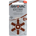 Rayovac hearing aid battery 312 - blister of 6