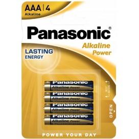 Bateria alkaliczna Panasonic LR3 AAA Bronze - blister pak. po 4 szt.