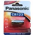 Panasonic 123 Lithium Battery - blister of 1