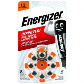 Energizer Hearing Aid 13 Batteries - blister of 8