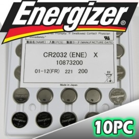 Energizer CR2032 battery - blister packs of 20