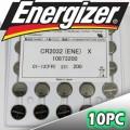 Energizer CR2032 battery - blister packs of 20