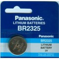 Lithium Panasonic CR 2325 3V battery - Blister packs of 5