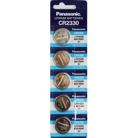 Lithium Panasonic CR 2330 3V  battery - Blister packs of 5