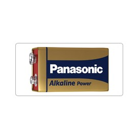 Panasonic 6LR61 Alkaline Battery - blister of 1