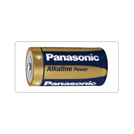 Alkaline Battery Panasonic LR-14 Bronze- blister packs of 2