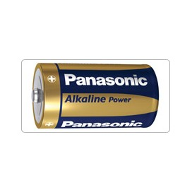 Alkaline Battery Panasonic LR-20 Bronze- blister packs of 2