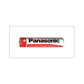 Bateria Panasonic R-3 AAA - blister pak. po 10 szt.
