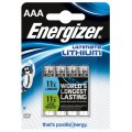 Energizer AAA L92 LR3/FR3 Battery - blister of 4