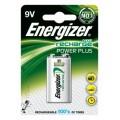 Energizer 175mAh 9V HR22 rechargeable battery  - blister of 1