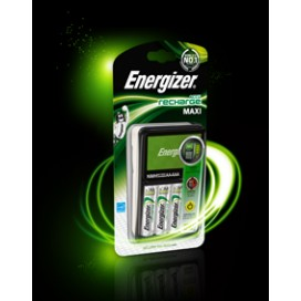 Energizer 638591 Maxi Battery Charger +4xAA 2300mAh