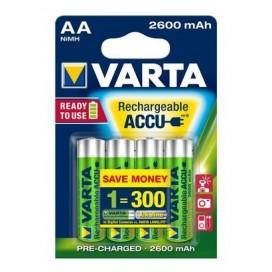 Akumulator Varta HR 6 2600 mAh ready 2 use - blister 4 szt. / pudełko 40 szt.