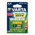 Varta rechergeable battery HR6 2600 mAh ready 2 use - blister of 4