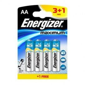Energizer LR6 Maximum battery 3+1free - blister pack of 4
