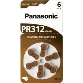 Bateria Panasonic 312 słuchowa - blister 6szt