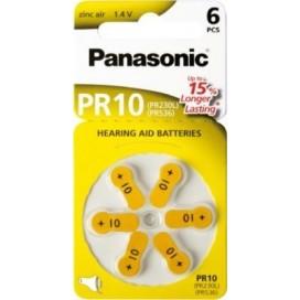 Bateria Panasonic 10 słuchowa - blister 6szt