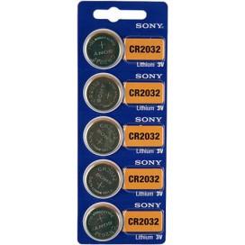Bateria litowa Sony CR 2032 3V - Blister 5 szt.