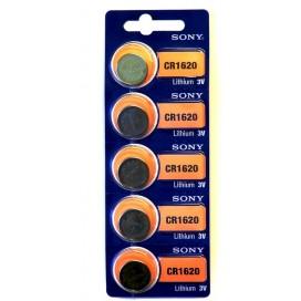 Bateria litowa Sony CR 1620 3V - Blister 5 szt.