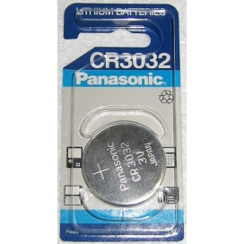 Panasonic CR 2412 3V Lithium Battery- Blister of 1