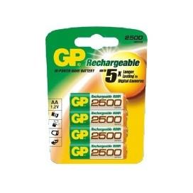 Akumulator GP AA 2500 mAh - blister 4 szt.  / pudełko 40 szt.