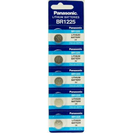 Panasonic Lithium-Based battery CR 1025 3V - Blister pack of 5