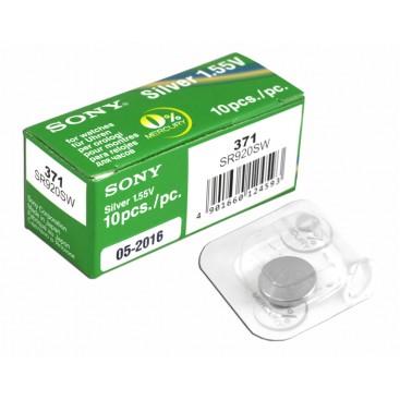 Bateria Sony SR521 SW (379) - pudełko 10szt