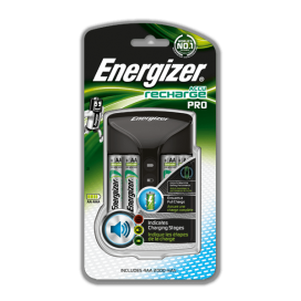 Energizer 635043/638582 Maxi Battery Charger +4xAA 2000mAh