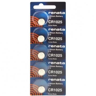 Lithium-Based battery Renata CR 1025 3V - Blister of 1